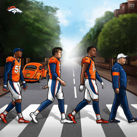 Broncos Abbey Road