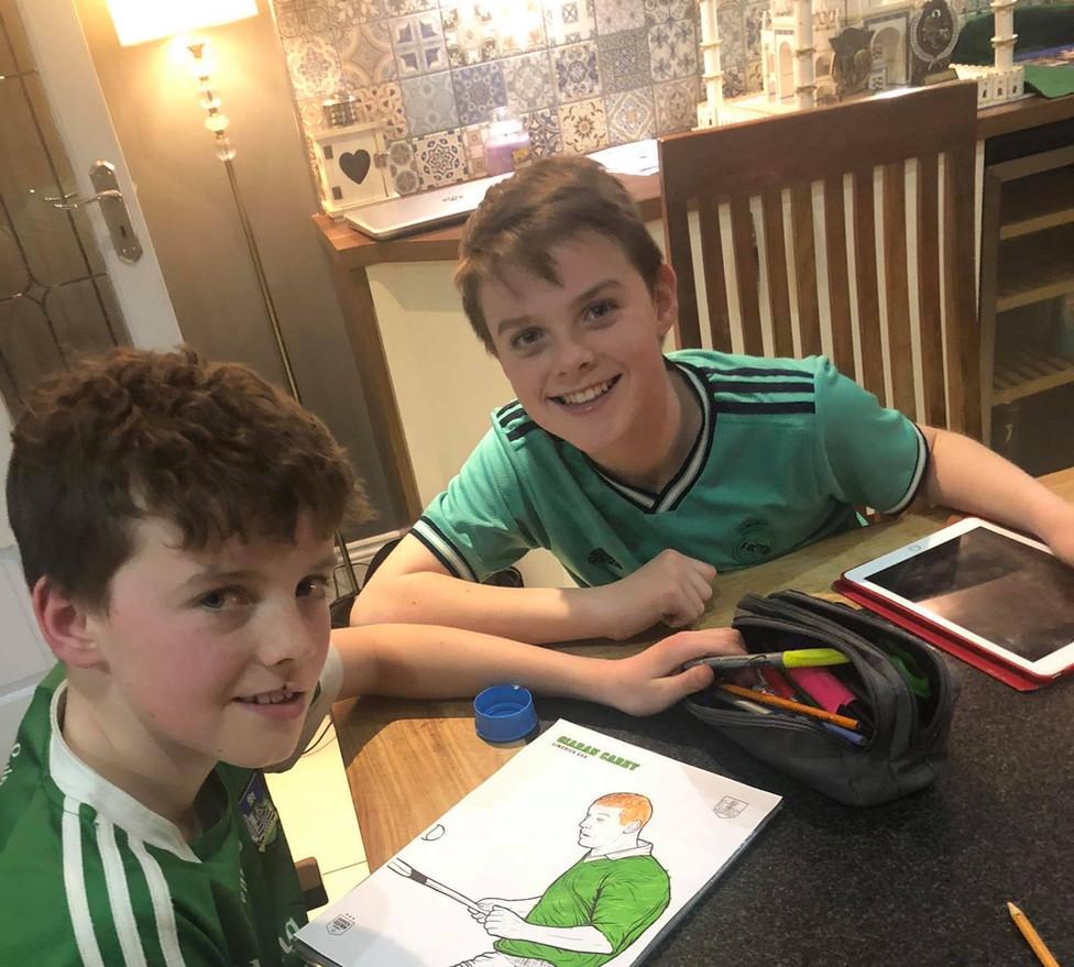 Danny & David Fitzpatrick (Age 10)