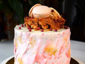 Making The Ultimate Vegan Birthday Cake: Quarantine With Us | Delia.v Life