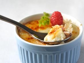 Easy Vegan Creme Brulee Recipe - 5 ingredients (Gluten-Free) | Delia.v Life