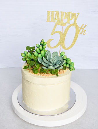 Vegan Custom Cake