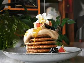 Earl Grey Dalgona Pancakes Single Serving (Sugar Free + Vegan) | Delia.v Life
