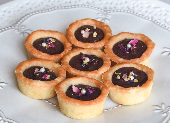 Mini Chocolate Tarts (12 pcs)