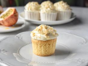 Amazing Vegan Passionfruit Coconut Cupcakes - Soft, Fluffy & Moist | Delia.v Life