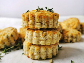 Best Vegan Buttermilk Biscuits - Simple & Fluffy | Delia.v Life