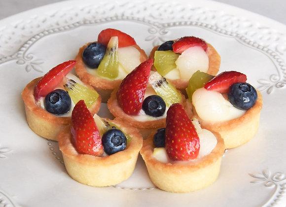 Mini Fruit Tarts (12 pcs)