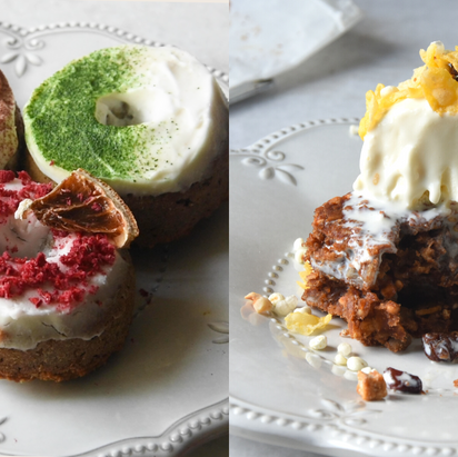 3 Ingredients Gluten Free Muesli Squares & Donuts | Delia.v Life