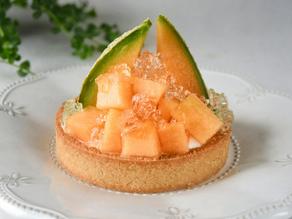 Super Easy & Healthy Vegan Melon Yogurt Tart Recipe | Delia.v Life