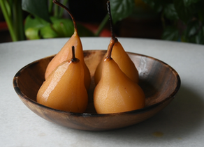 How To: Vegan Earl Grey Poached Pear Cake | Delia.v Life
