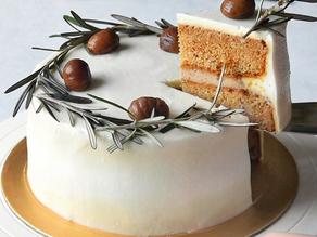 Vegan Chestnut Butter Cake (Gluten Free + Low GI) | Delia.v Life