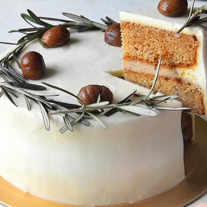 Vegan Chestnut Butter Cake (Gluten Free + Low GI)   Delia.v Life