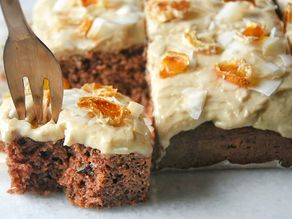 Vegan High Protein Low Carbs Carrot Cake | Delia.v Life