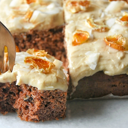Vegan High Protein Low Carbs Carrot Cake | Delia.v Life