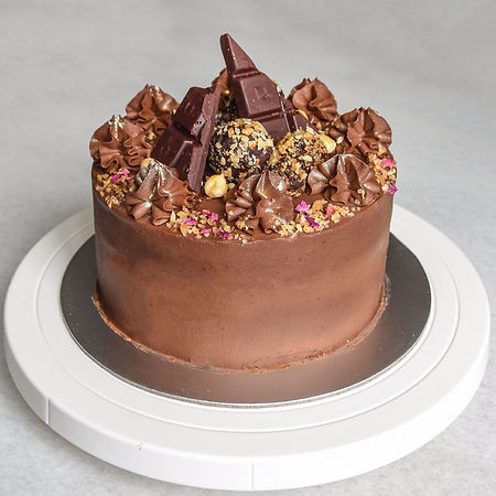 Vegan chocolate bar cake