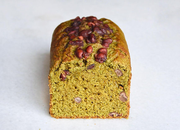 Matcha Red Bean Pound Cake