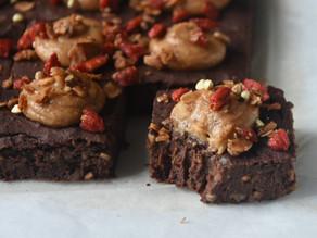 Best Vegan Superfood Fudge Brownies (Low Fat, High Protein) | Delia.v Life