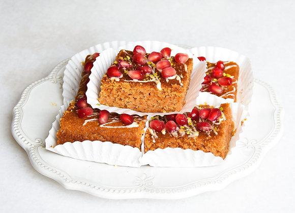 Gluten-free Turmeric Squares