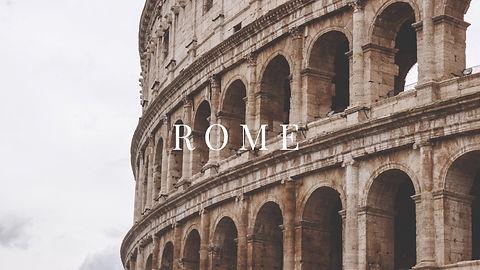 Carnet de voyage Rome