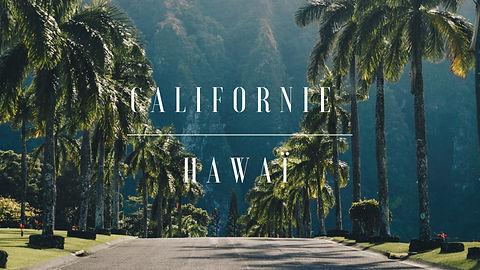 Carnet de voyage Californie Hawaï