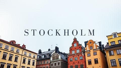 Carnet de voyage Stockholm