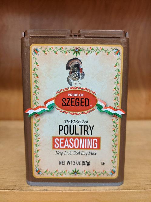 Szeged Poultry Seasoning 2.0oz Tin