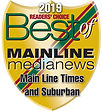 2019 Best of Main Line Official logo (No
