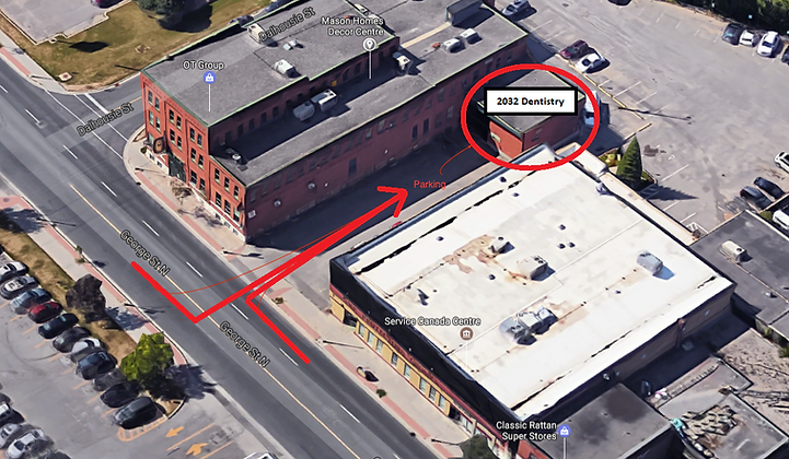 Parking location for 202 Dentistry