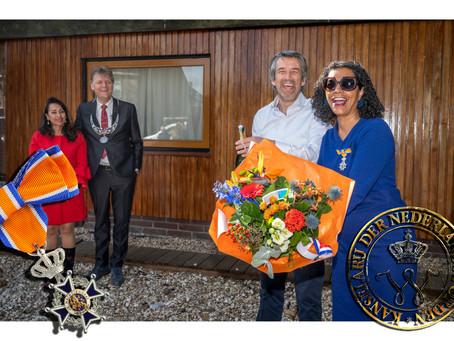Koninklijke Onderscheiding voor Mercedes Zandwijken
