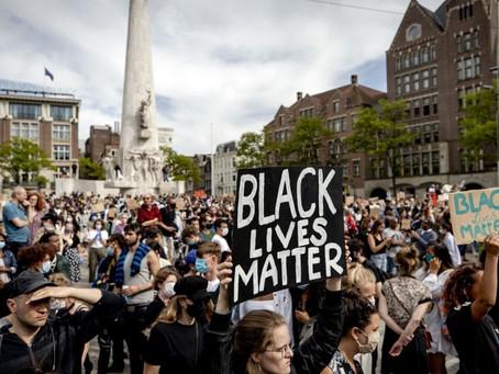 Demonstraties tegen racisme en discriminatie van zwarte burgers