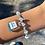 Thumbnail: Ocean Chanel Bracelet (Swarovski)