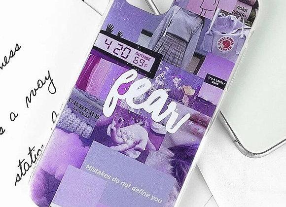 Purple Aesthetic iPhone Case