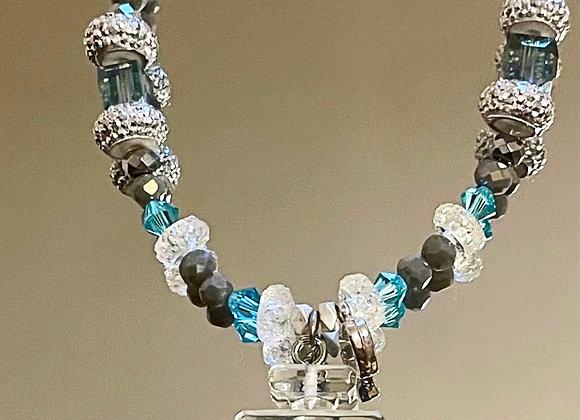 Ocean Chanel Bracelet (Swarovski)