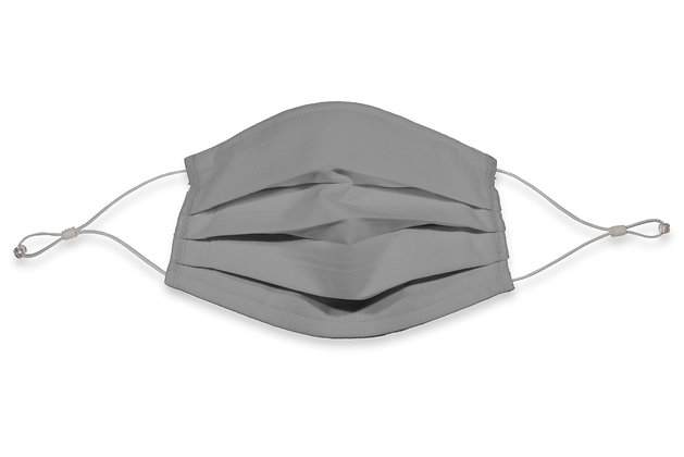 Earloops Face Mask - Silver