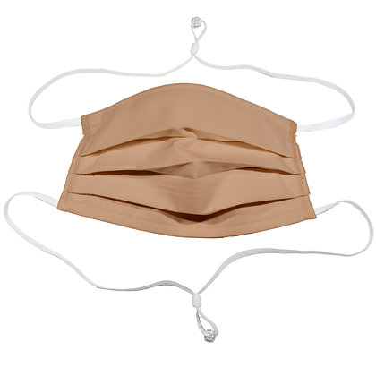 Adjustable over head mask - Cappuccino