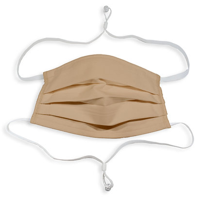 Adjustable over head mask - Khaki