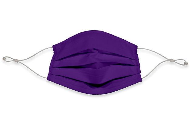 Earloops Face Mask - Purple
