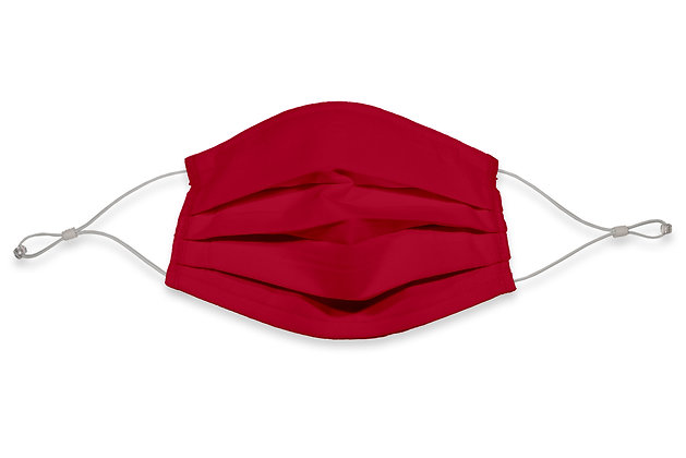 Over the Ears Face Mask - Red