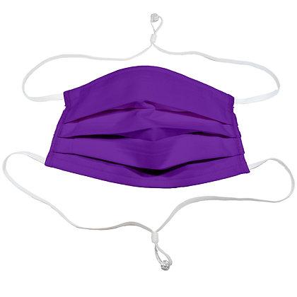 Adjustable over head mask - Purple