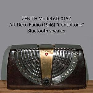 Zenith 6D-015Z Bluetooth speaker