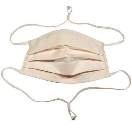 Adjustable over head mask - Parchment