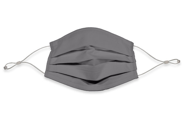 Earloops Face Mask - French Gray