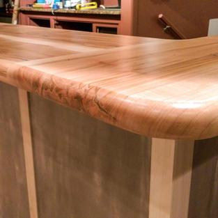 Reastaurant bar top - ambrosia maple