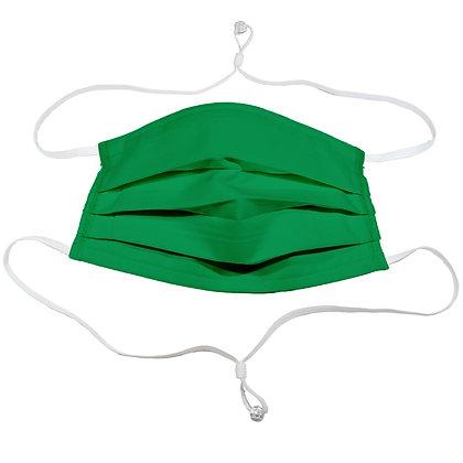 Adjustable over head mask - Green