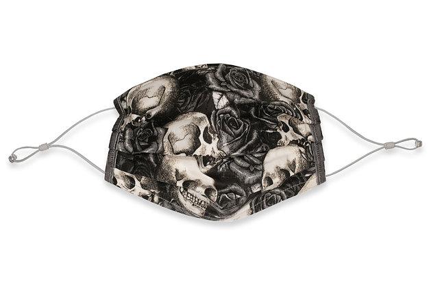 Earloops Face Mask - Skulls