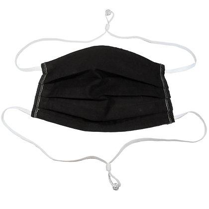 Adjustable over head mask - Black
