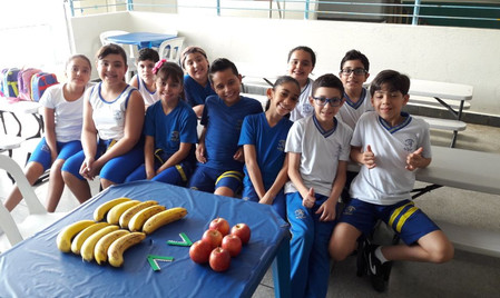 Incentivo ao consumo de Frutas/ Projeto alimentação saudável.