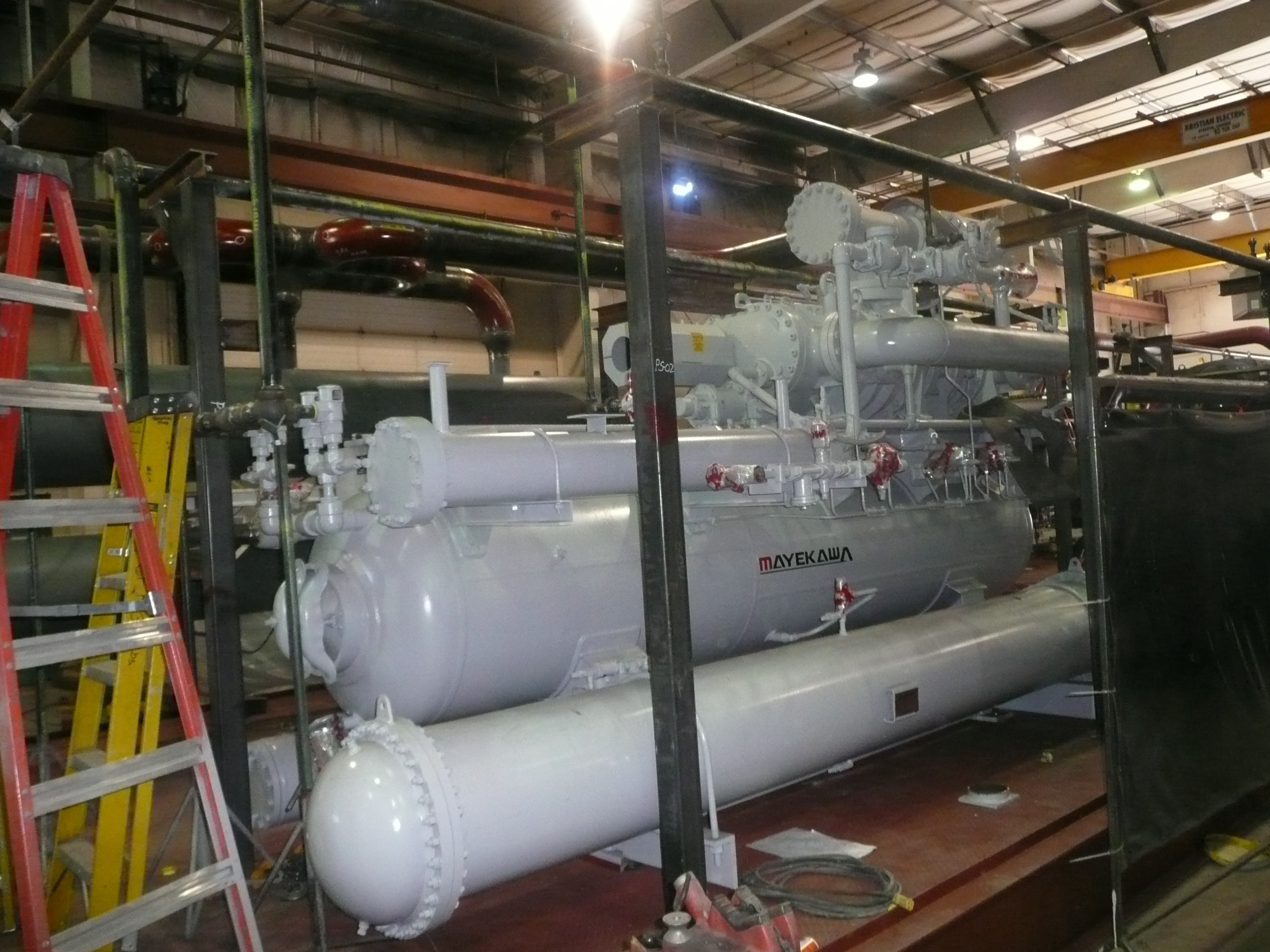 Freeze Plant Fabrication