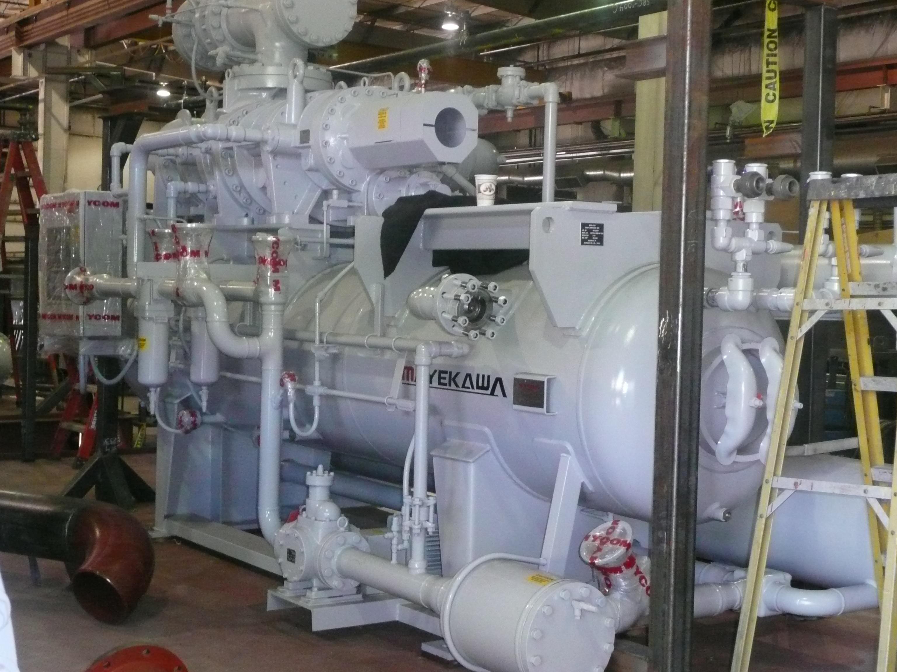 Freeze Plant Compressor