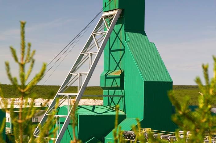 McArthur River Mine Headframe