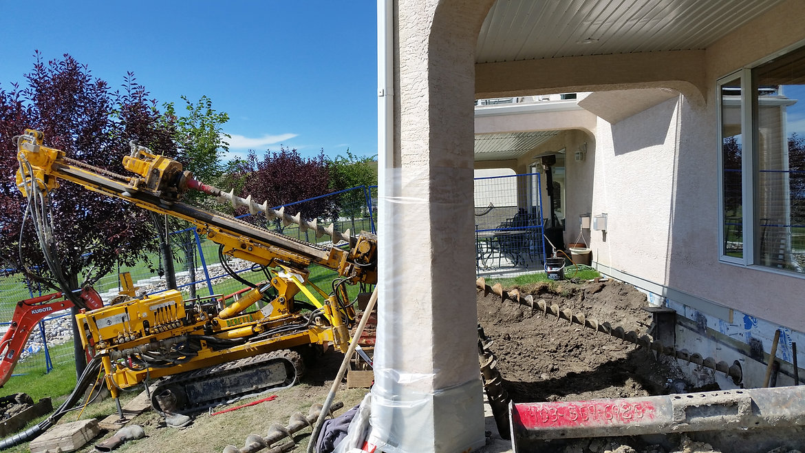 Anchors, Piles, Testing, Grouting, Geostructural